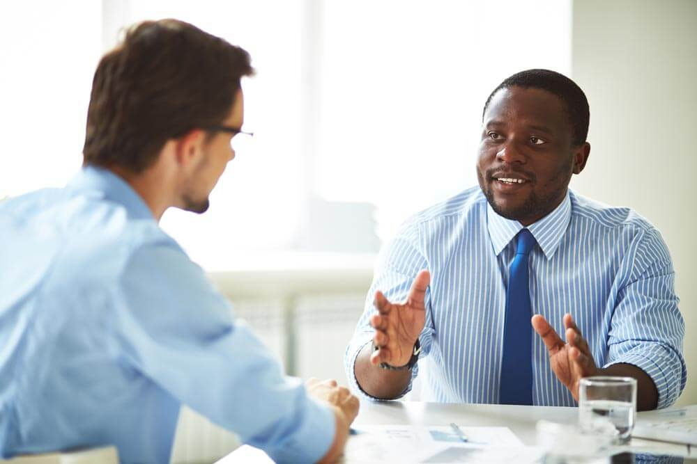 """Successful interviewing is hard. But what you say and how you say it can lead to that """"chemical reaction."""""""
